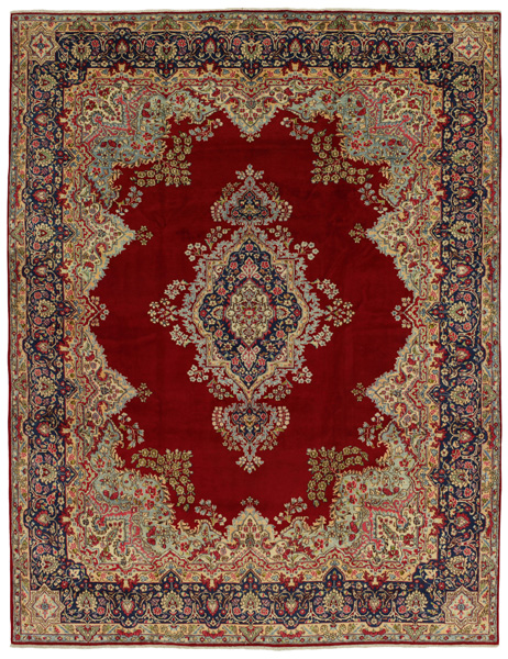 Kerman - Lavar Persian Carpet 401x304