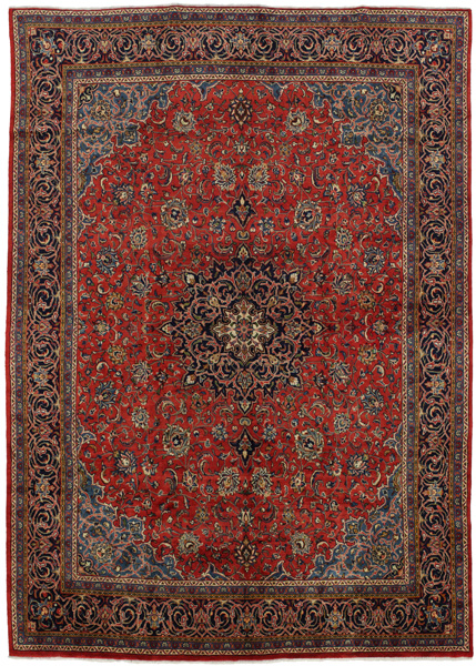 Kashan Persian Carpet 404x293
