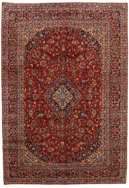 Kashan Persian Carpet 414x281