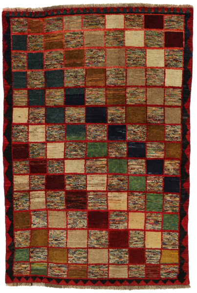 Gabbeh - Bakhtiari Persian Carpet 189x129