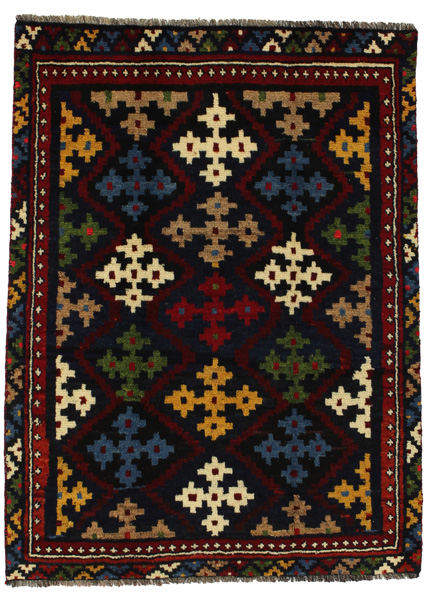 Gabbeh - Bakhtiari Persian Carpet 177x132
