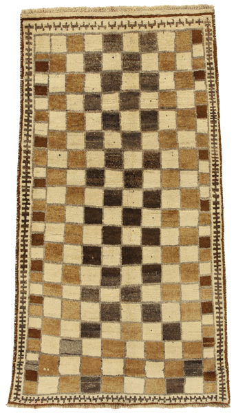 Gabbeh - Bakhtiari Persian Carpet 197x102