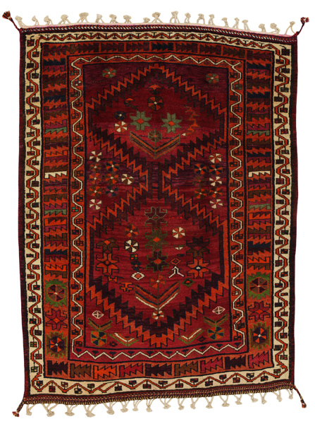 Lori - Bakhtiari Persian Carpet 202x152
