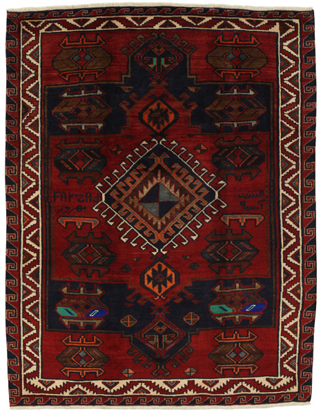 Lori - Bakhtiari Persian Carpet 220x171