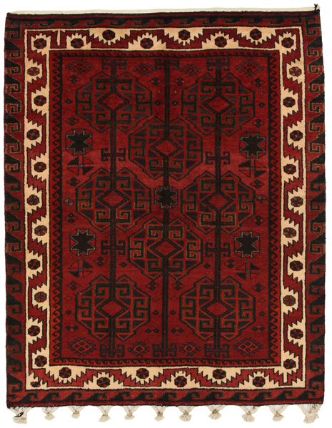 Lori - Bakhtiari Persian Carpet 198x158