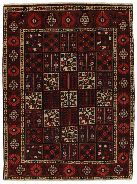 Bakhtiari Persian Carpet 196x144