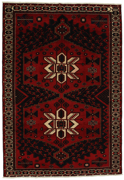 Afshar - Sirjan Persian Carpet 305x212