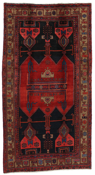 Koliai - Kurdi Persian Carpet 300x162