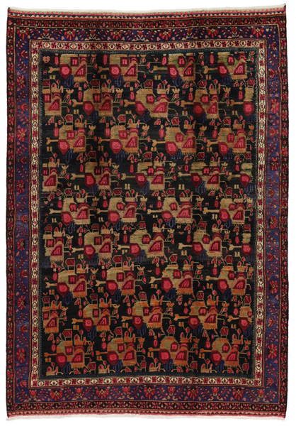 Afshar - Sirjan Persian Carpet 282x200