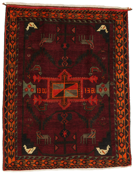 Lori - Bakhtiari Persian Carpet 202x154