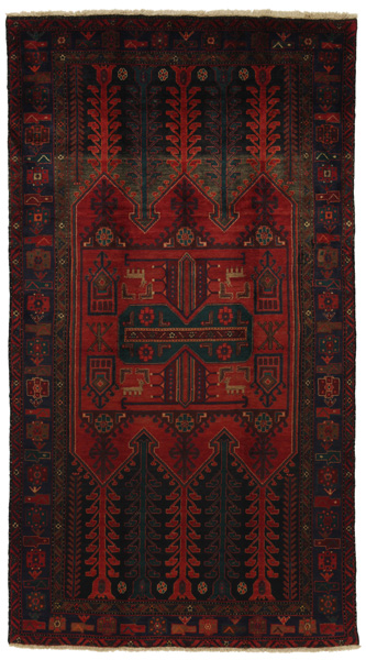 Koliai - Kurdi Persian Carpet 278x154