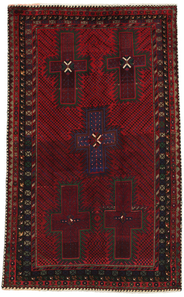 Afshar - Sirjan Persian Carpet 222x136