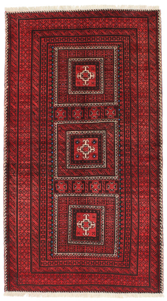 Baluch - Turkaman Persian Carpet 203x113