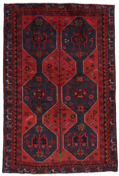 Afshar - Sirjan Persian Carpet 232x154