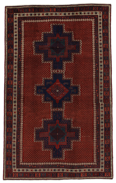 Afshar - Sirjan Persian Carpet 243x150