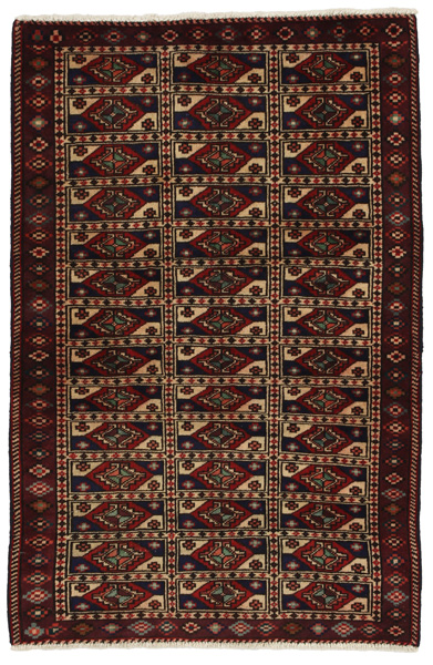 Baluch - Turkaman Persian Carpet 150x96