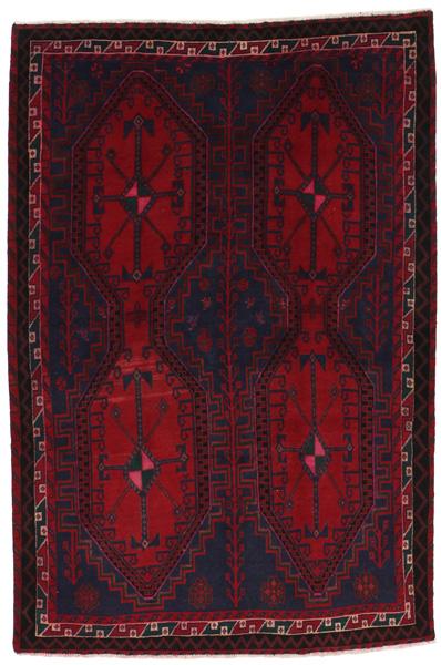 Afshar - Sirjan Persian Carpet 229x152
