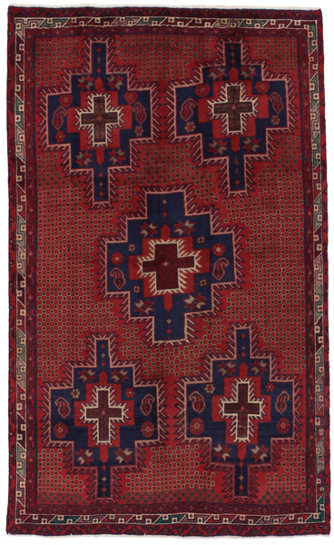 Afshar - Sirjan Persian Carpet 233x140