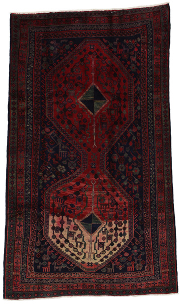 Afshar - Sirjan Persian Carpet 232x135