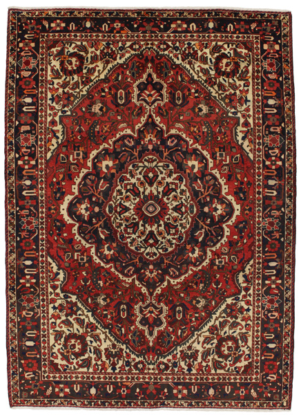 Bakhtiari Persian Carpet 307x220