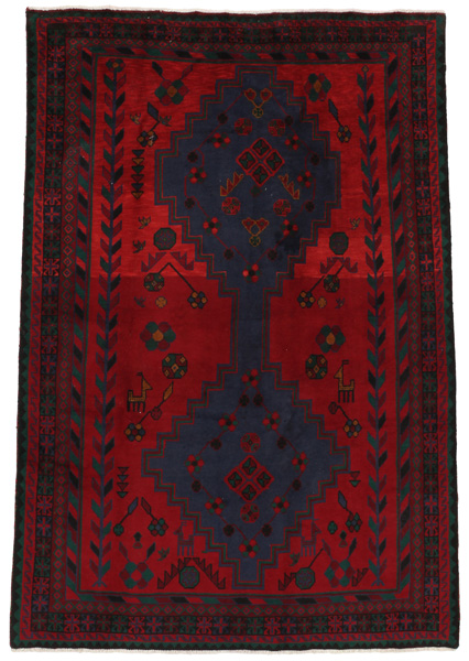 Afshar - Sirjan Persian Carpet 219x150