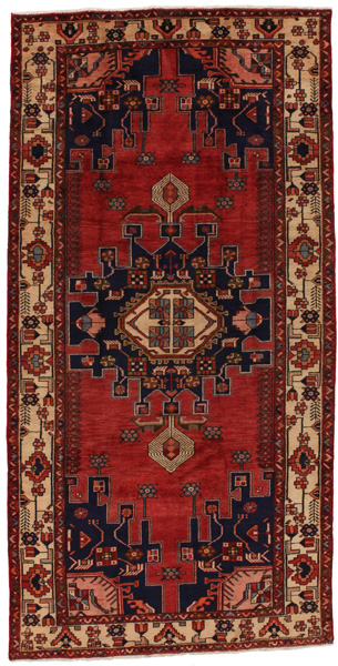 Lori - Bakhtiari Persian Carpet 309x156