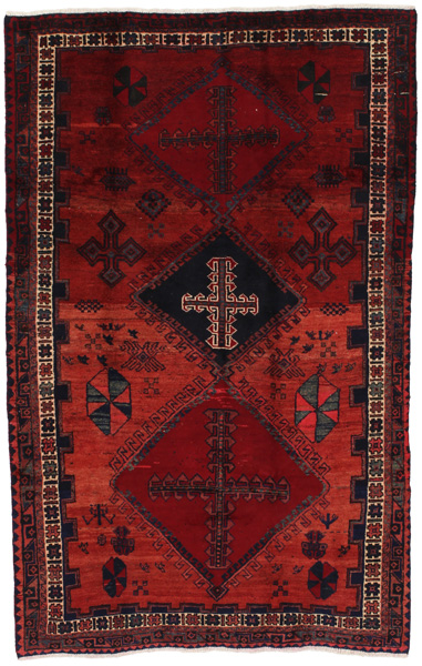 Afshar - Sirjan Persian Carpet 228x144