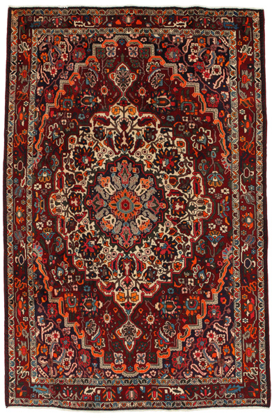 Bakhtiari Persian Carpet 315x207