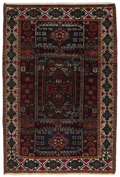 Lori - Bakhtiari Persian Carpet 232x154