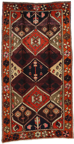 Bakhtiari Persian Carpet 258x131