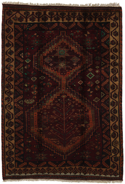 Lori - Bakhtiari Persian Carpet 231x166