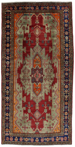 Koliai - Kurdi Persian Carpet 332x167