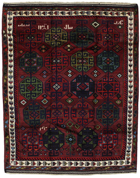 Lori - Bakhtiari Persian Carpet 203x162