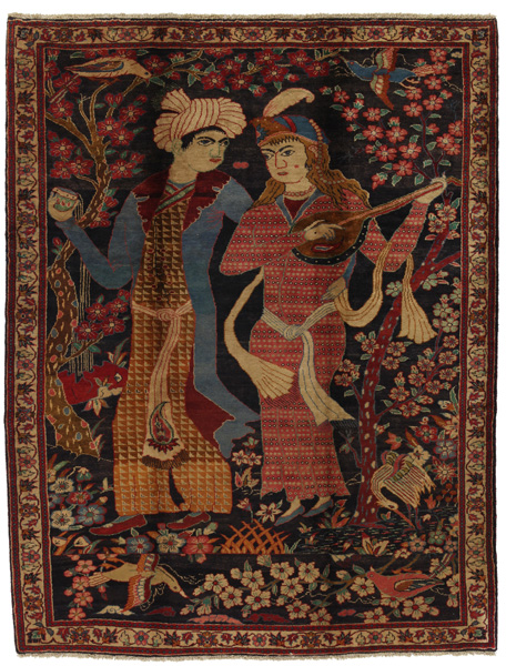 Jozan - Sarouk Persian Carpet 295x225