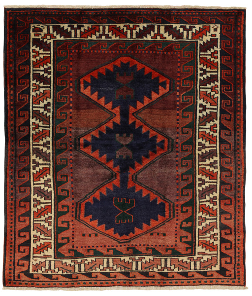 Lori - Bakhtiari Persian Carpet 186x162