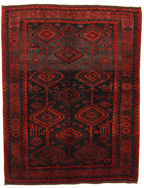 Lori - Bakhtiari Persian Carpet 215x167