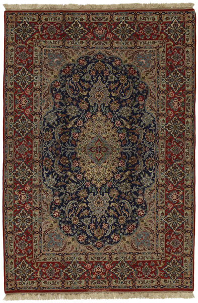 Isfahan Persian Carpet 243x163