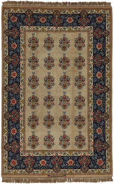 Isfahan Persian Carpet 214x140