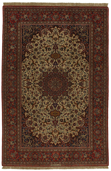 Isfahan Persian Carpet 303x201