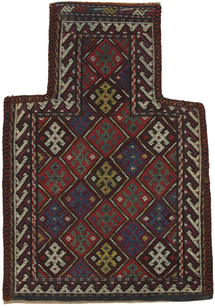 Qashqai - Saddle Bag Persian Carpet 54x38