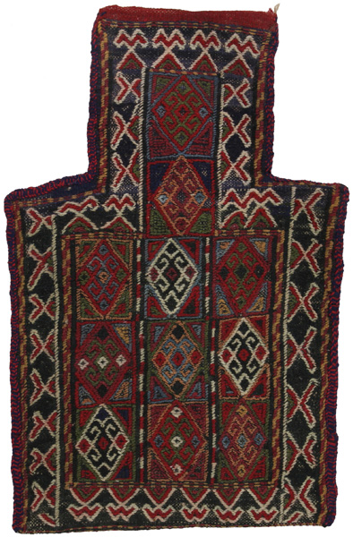 Qashqai - Saddle Bag Persian Carpet 53x33