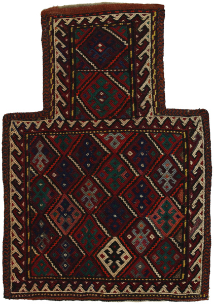 Qashqai - Saddle Bag Persian Carpet 54x37