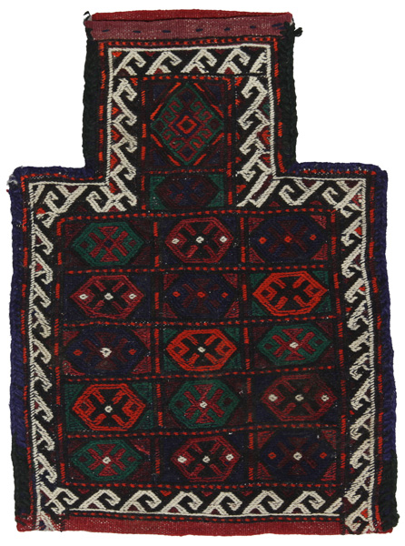 Qashqai - Saddle Bag Persian Carpet 48x35
