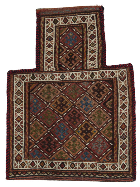 Qashqai - Saddle Bag Persian Carpet 49x37