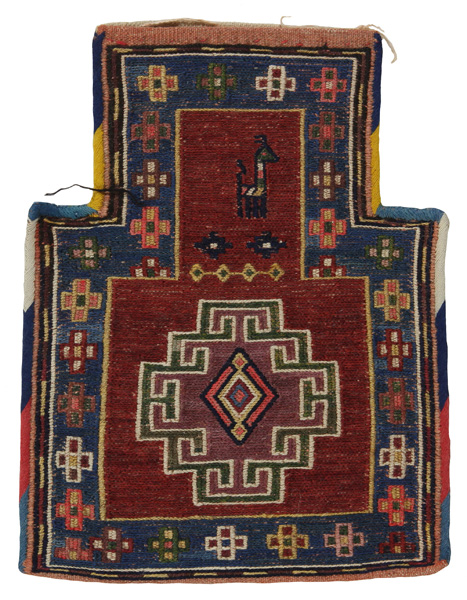 Qashqai - Saddle Bag Persian Carpet 39x29