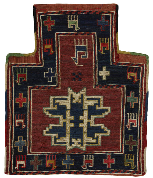 Qashqai - Saddle Bag Persian Carpet 42x35