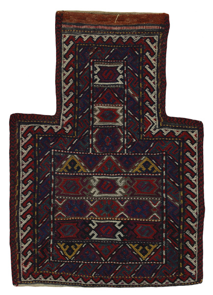 Qashqai - Saddle Bag Persian Carpet 51x36