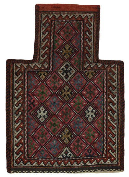 Qashqai - Saddle Bag Persian Carpet 51x35