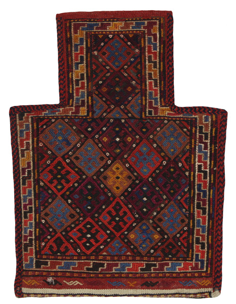 Qashqai - Saddle Bag Persian Carpet 49x36