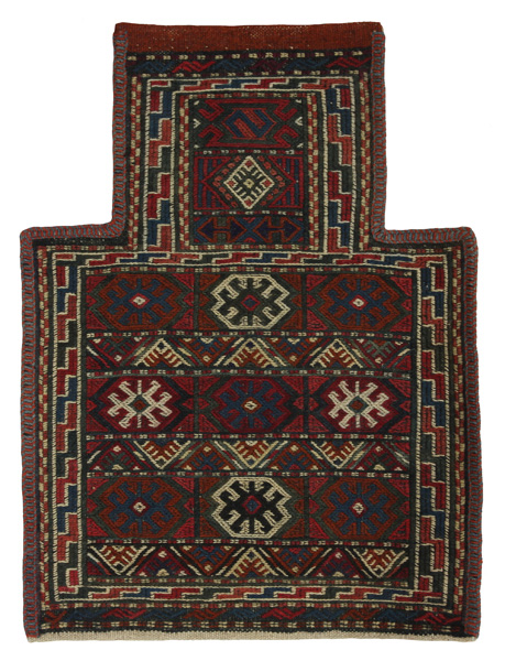 Qashqai - Saddle Bag Persian Carpet 47x35